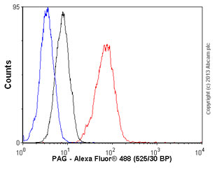Flow Cytometry - Anti-PAG antibody [PAG-C1] (ab4206)