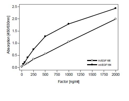 Sandwich ELISA - Anti-VEGFA antibody (ab51745)