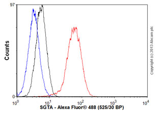 Flow Cytometry - Anti-SGTA antibody (ab55689)