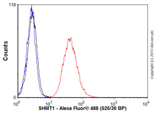 Flow Cytometry - Anti-SHMT1 antibody (ab55736)