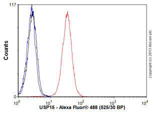 Flow Cytometry - Anti-USP15 antibody (ab56900)