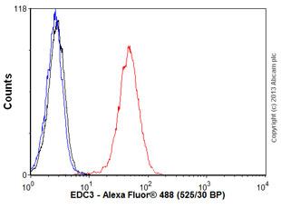 Flow Cytometry - Anti-EDC3 antibody (ab57780)
