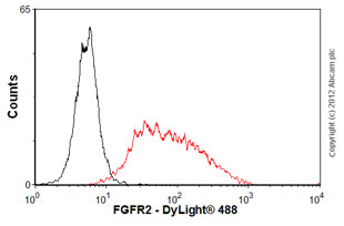 Flow Cytometry - Anti-FGFR2 antibody (ab58201)