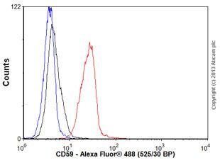 Flow Cytometry - Anti-CD59 antibody [MEM-43] (ab59475)