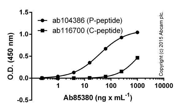 ELISA - Anti-c-Myc (phospho T58) antibody (ab85380)