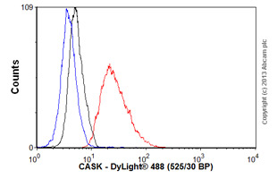 Flow Cytometry - Anti-CASK antibody [S56A-50] (ab99039)